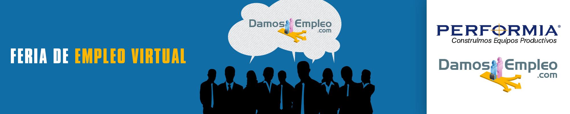 FERIA DE EMPLEO VIRTUAL - DAMOSEMPLEO - EL SALVADOR