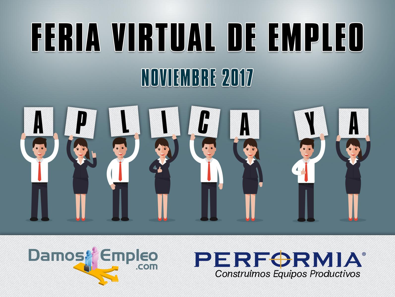 Previa feria virtual de empleo noviembre 2017 for Ina virtual de empleo